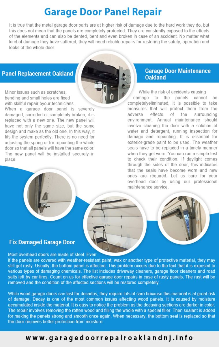 Garage Door Repair Oakland Infographic